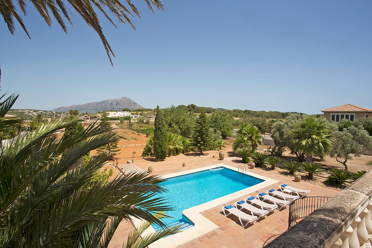 Villas in rural areas on the Costa Blanca